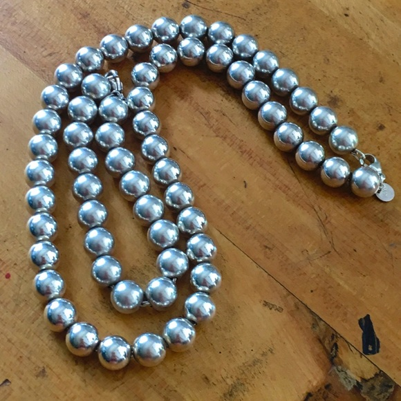 b076c4b56 Tiffany & Co. 925 Silver Beaded Necklace/Bracelet.  M_5bb77e286a0bb71e696d98ec